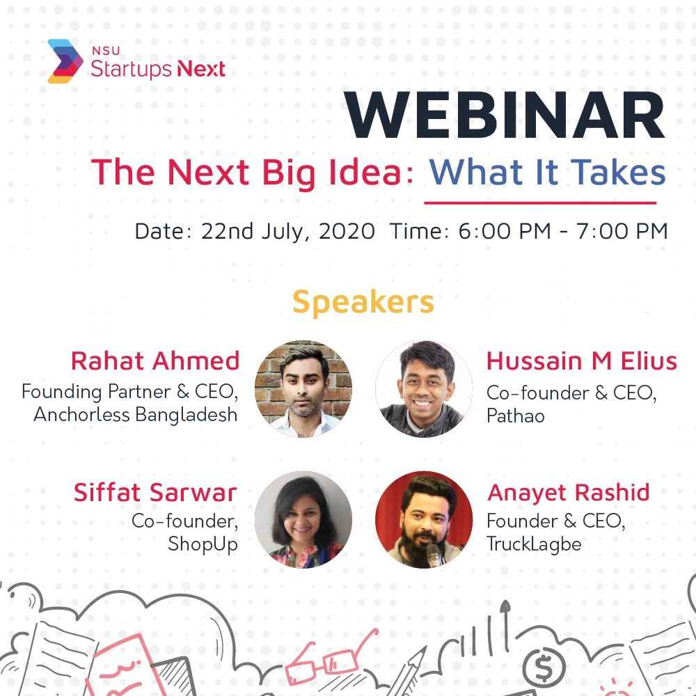 The Next Big Idea: What It Takes